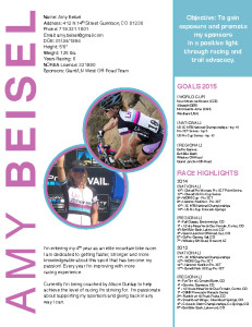 AmyBeiselResume2015